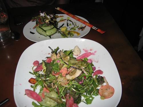 5.7.08-Grezzo-seaweed salad & house salad