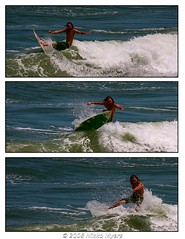 Surf's Up (Nikko Myers) Tags: ocean beach water surf shot action surfer rip wave jacksonville fl nikko jax nam myers