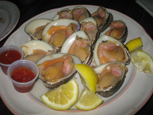 Seafood at Steve's Clam Bar