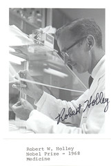 Portrait of Robert William Holley (1922-1993), Biochemist
