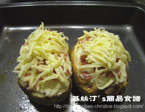 二焗馬鈴薯 Twice Baked Potatoes04
