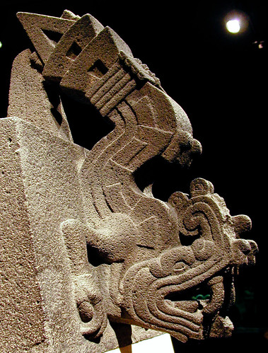aztec sculpture