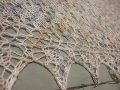 Star of Evening Shawl (2)