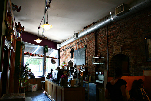 Inside of Day by Day Cafe