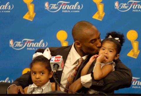 Kobe and kids