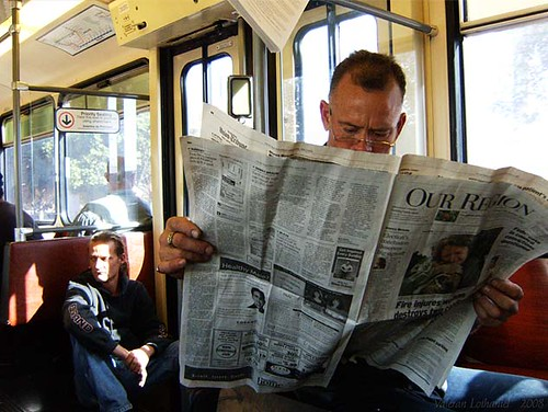 Newspaper Reading 1