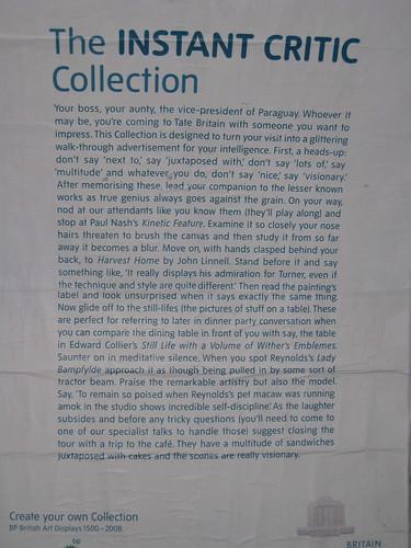 Tate Britain advert