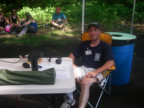 Radio at checkpoint 4