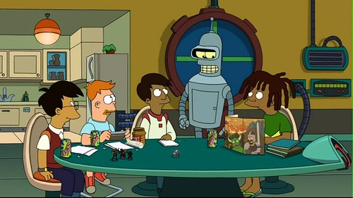 Bender robot futurama