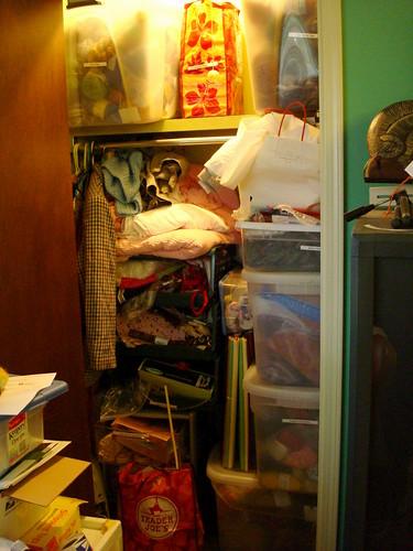 The stash closet