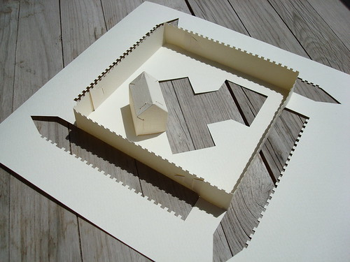 wall house - paper