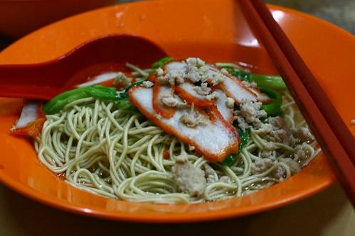 White Wan Tan Mee
