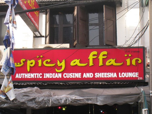 Spicy Affair Indian restaurant in Bangkok