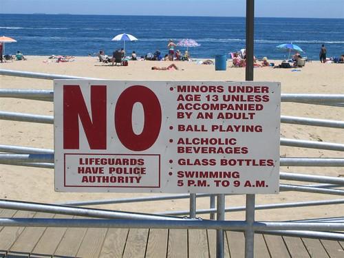 Ocean Grove Beach Rules