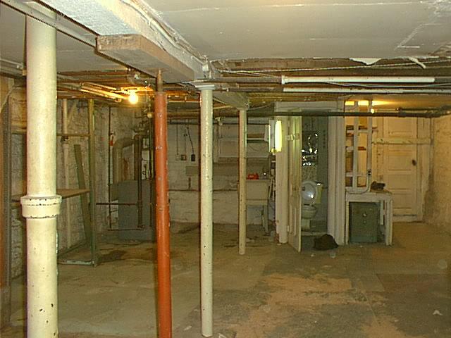 brownstone basement