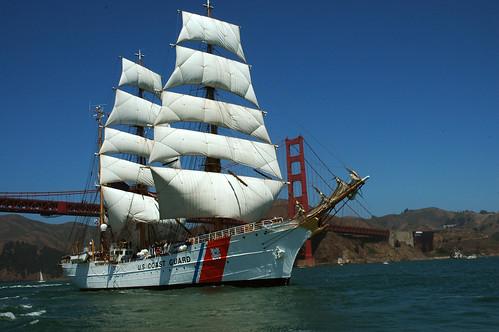 coastguard goldengatebridge sanfranciscso cuttereagle