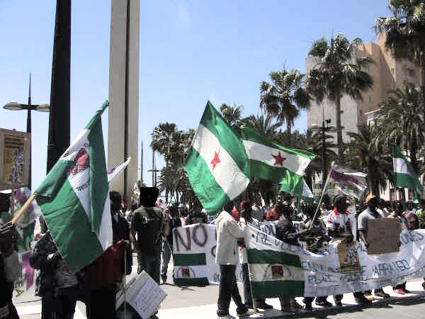 Manifestacion 1 de Mayo 2008