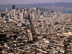View of Downtown SF from Twin Peaks () Tags: sf sanfrancisco road above city party mountain downtown view centro thecity twinpeaks soire montaas sfist atop  saofrancisco bjerg  vuori  onerincon christmastreepointroad