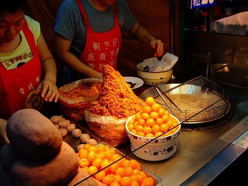 蛋黃芋餅.香酥芋丸