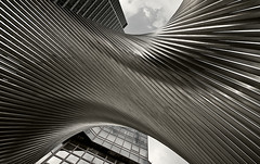 Twisted (Philipp Klinger Photography) Tags: sculpture metal architecture skyscraper germany deutschland nikon hessen pov frankfurt platz bank mainzer republik der philipp twisted hesse dz d300 klinger sigma1020 cityhaus superaplus aplusphoto landstrase infinestyle dcdead