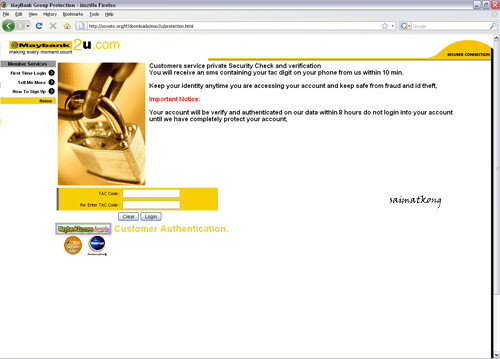 Maybank2u.com Email Phishing Scam