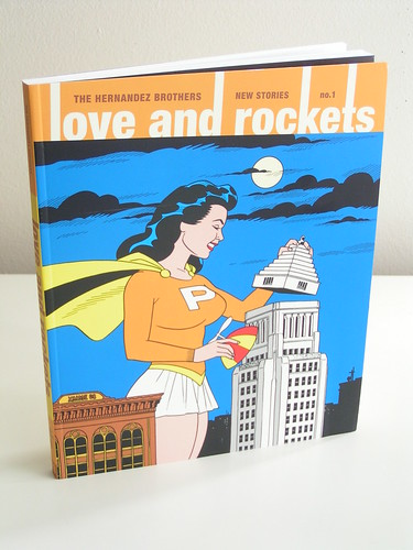 Love and Rockets: New Stories #1 by The Hernandez Brothers - cover by Jaime Hernandez