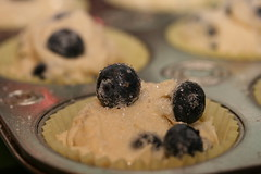 Disaster Again Blueberry Muffins