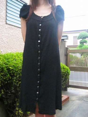 New crepe dress from Tsumori Chisato