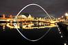 Millennium Bridge (helenbak) Tags: reflection newcastle sage tyne millenniumbridge