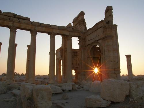 Amanece en Palmira