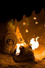 Fire Dragon (gkutas) Tags: fire gold coast sand dragon australia 2008 gk 1020sigma 400d