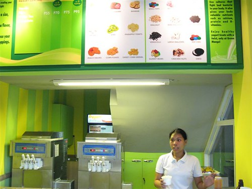Green Mango frozen yogurt (1)