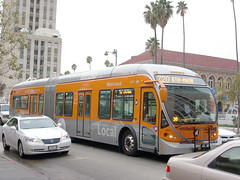 Metro Local artic on Metro Rapid Line 720, Los Angeles