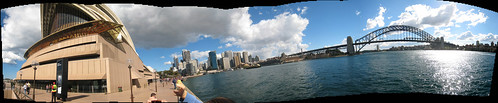 Sydney Panorama Created in PhotoShop CS3