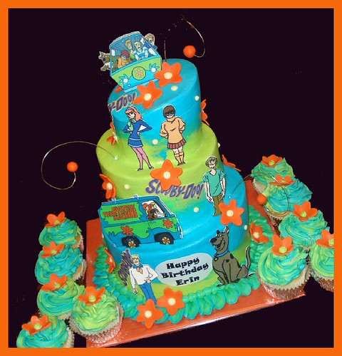 scooby doo cake for erin