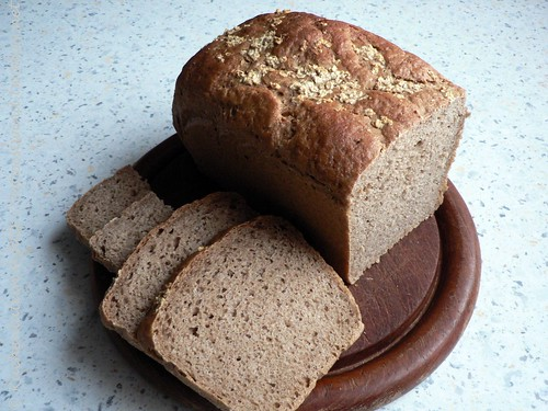 ©Whole Grain Oatmeal Bread 004