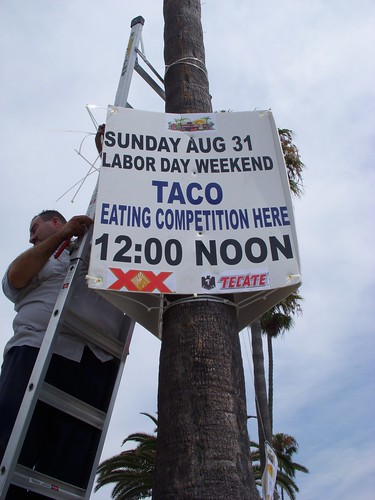 Baja Cantina Taco Eating Competition