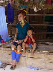 Karen Hill Tribe Mother and Child (Thailand) (Butch Osborne) Tags: travel ladies portrait people portraits neck thailand necklace reisen asia southeastasia long village faces burma traditional hill tailandia tribal karen ring rings longneck tribes myanmar traveling tribe ethnic brass burmese mujeres lifeisgood birma oat coils bodymodification indigenous villagers hilltribes padang puravida hilltribe deviaje longnecktribe mustsee karentribe padong longnecks padaung birmanie jirafa collo kayan palaung longo lungo birmania longneckkaren karenhilltribe mujeresjirafa burmeseborder digitalefotografie paduang mywinners abigfave overseasadventuretravel bucketlist goldstaraward giraffewomen overseasadventuretours rubyphotographer