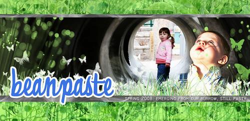 BeanPaste Spring Header