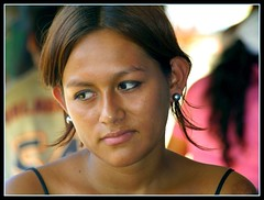 the eyes looking away ... (maios) Tags: travel portrait woman peru girl beauty greek photo eyes flickr photographer fotografia amazonia manikis maios iosif heliography     ysplix       iosifmanikis