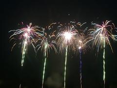 Epic Fireworks - 5 x Cosmic Charge (EpicFireworks) Tags: fireworks guyfawkes bonfirenight epicfireworks cosmiccharge greenandbluecomettails