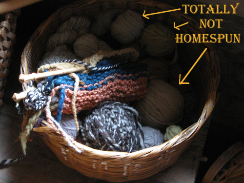 totally not homespun