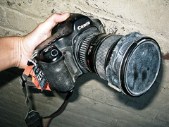 how do you keep your camera from getting dusty at burning man?!