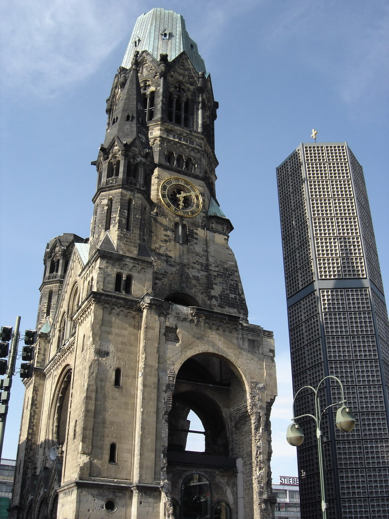 Image result for Gedachtniskirche (Memorial Church).