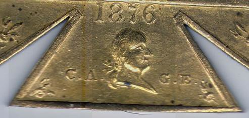 CAGE Medal closeup