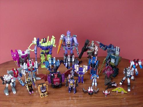 Transformers Decepticons G1 1984-1989