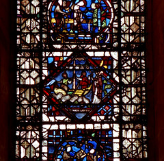 Lincoln, cathedral, window (groenling) Tags: window water glass saint boat ship cathedral wave lincolnshire nicolas lincoln minster nicholaus
