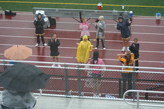 Maddie Cheering in the Rain