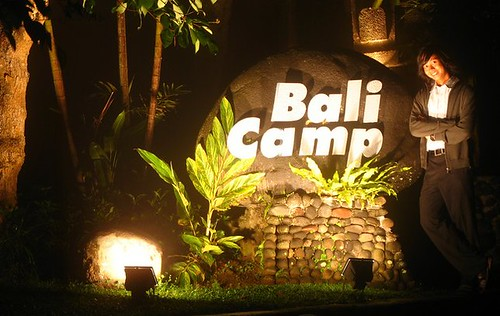me in front of bali camp stone
