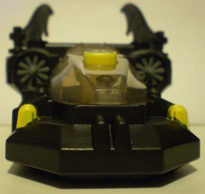 Front view of batboat